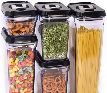Ideal Storage Containers To Keep Your Food Fresh