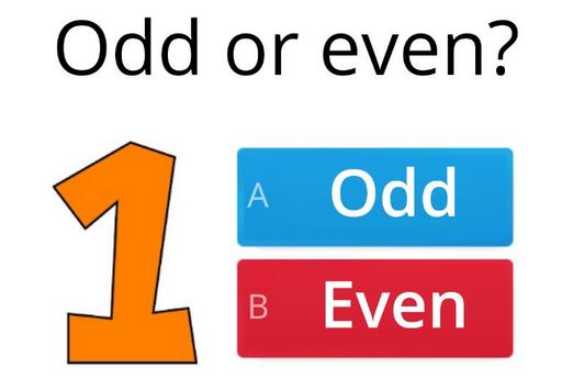 What are Odd and Even Numbers